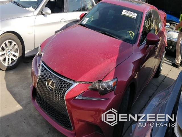 Used 2014 Lexus IS 350 Car For Parts Only For Parts