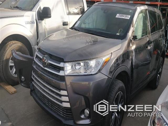 Used 2019 Toyota Highlander Hybrid Car For Parts Only For Parts