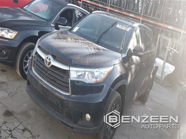 Used 2016 Toyota Highlander Hybrid Car For Parts Only For Parts