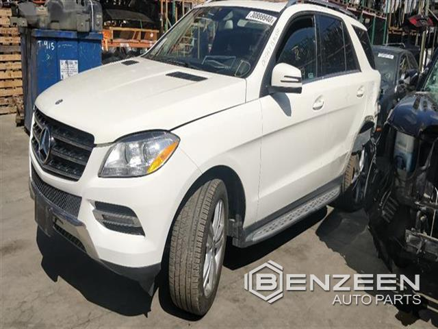 Used 2013 Mercedes-Benz ML350 Car For Parts Only For Parts