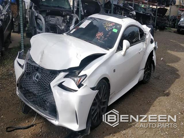 Used 2017 Lexus RC 200t Car For Parts Only For Parts