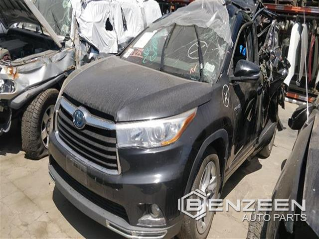 Used 2015 Toyota Highlander Hybrid Car For Parts Only For Parts