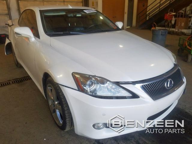 Used 2010 Lexus IS 350 Car For Parts Only For Parts
