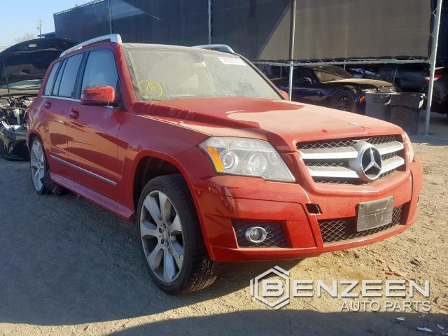 Used 2010 Mercedes-Benz GLK350 Car For Parts Only For Parts