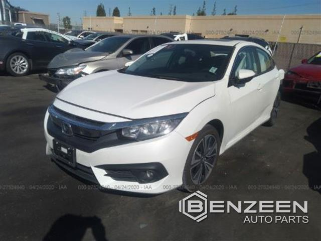 Used 2017 Honda Civic Car For Parts Only For Parts