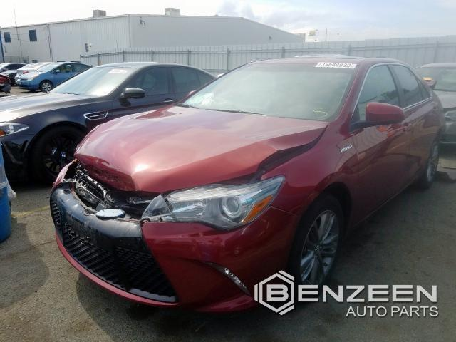Used 2017 Toyota Camry Hybrid Car For Parts Only For Parts