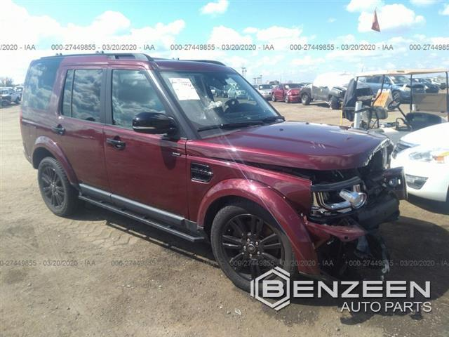 Used 2016 Land Rover LR4 Car For Parts Only For Parts