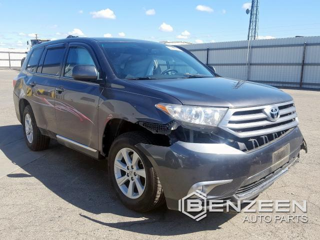 Used 2012 Toyota Highlander Hybrid Car For Parts Only For Parts