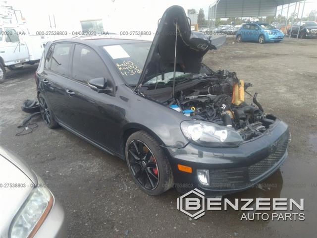 Used 2014 Volkswagen Golf GTI Car For Parts Only For Parts