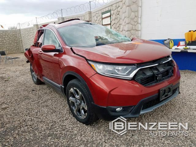 Used 2018 HONDA CR-V Car For Parts Only For Parts