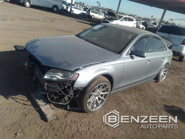 Used 2011 Audi A4 Car For Parts Only For Parts