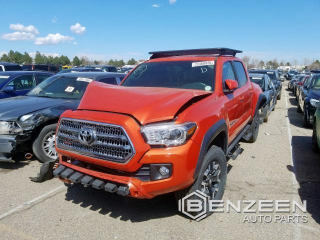 Used 2016 Toyota Tacoma Car For Parts Only For Parts