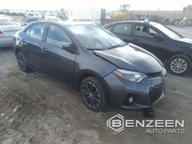 Used 2014 Toyota Corolla Car For Parts Only For Parts