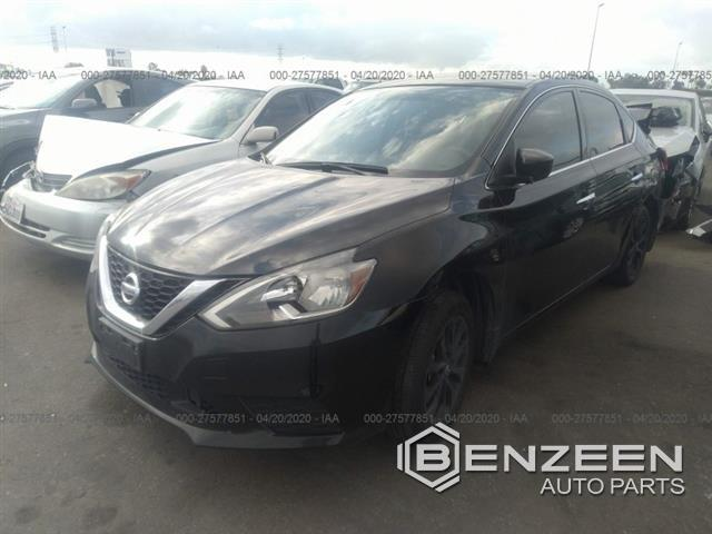 Used 2018 NISSAN Sentra Car For Parts Only For Parts