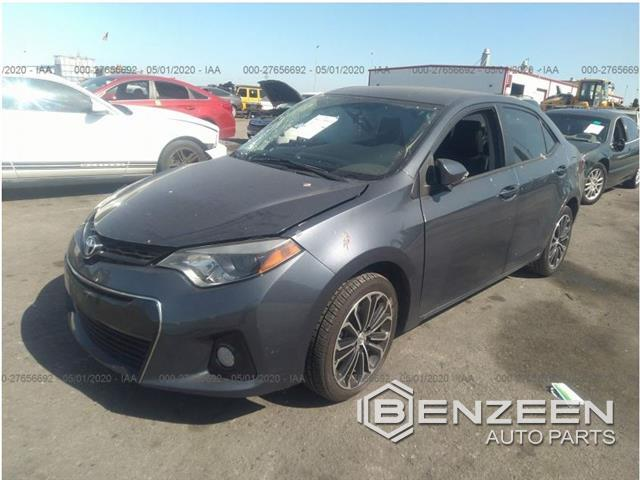 Used 2016 Toyota Corolla Car For Parts Only For Parts