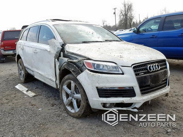 Used 2009 Audi Q7 Car For Parts Only For Parts
