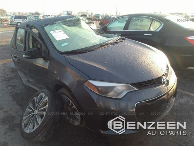 Used 2015 Toyota Corolla Car For Parts Only For Parts