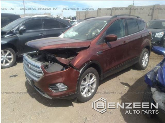 Used 2018 FORD Escape Car For Parts Only For Parts