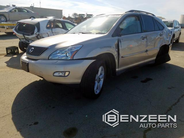 Used 2007 Lexus RX 350 Car For Parts Only For Parts