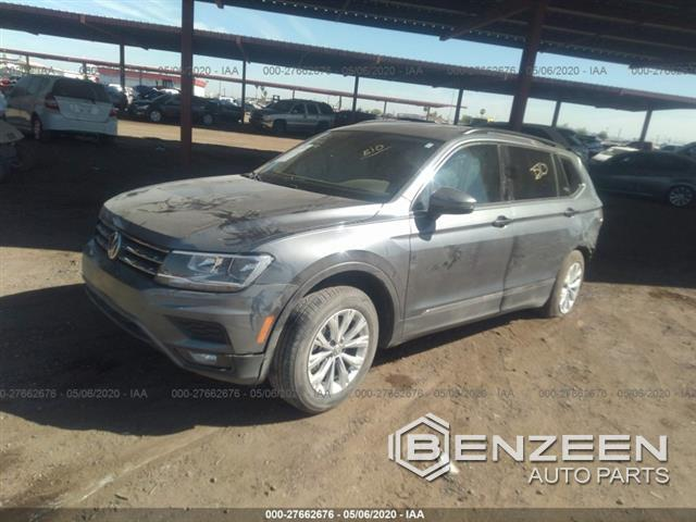 Used 2018 VOLKSWAGEN Tiguan Car For Parts Only For Parts