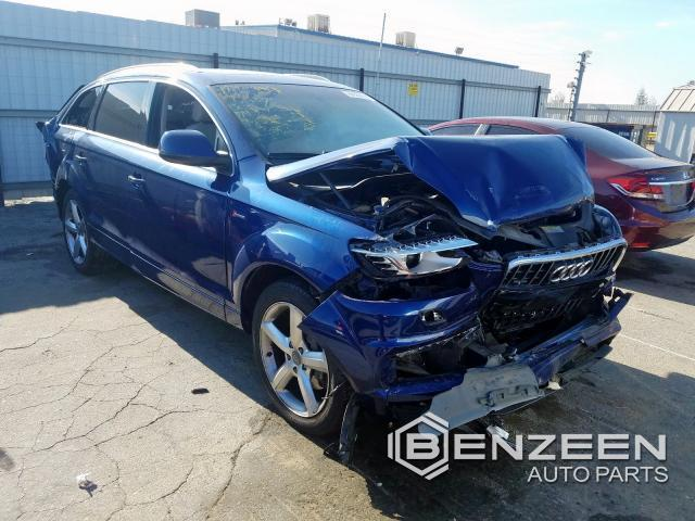 Used 2014 Audi Q7 Car For Parts Only For Parts