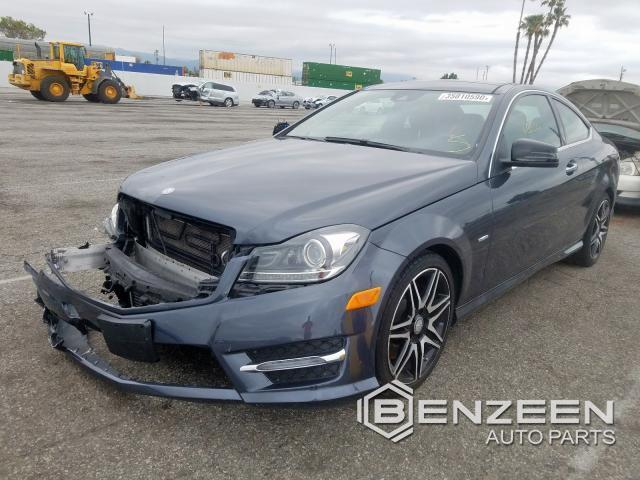 Used 2014 Mercedes-Benz C250 Car For Parts Only For Parts