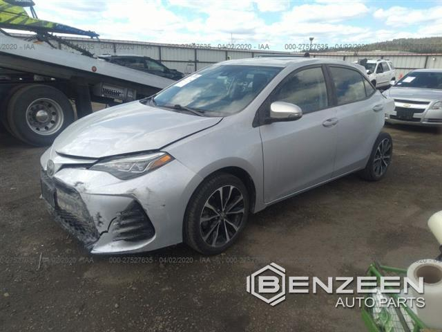 Used 2017 Toyota Corolla Car For Parts Only For Parts