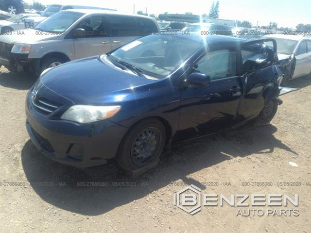 Used 2013 Toyota Corolla Car For Parts Only For Parts