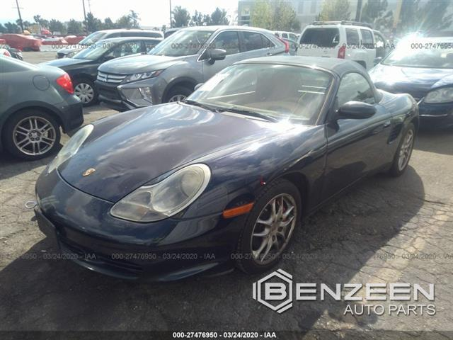 Used 2003 Porsche Boxster S Car For Parts Only For Parts