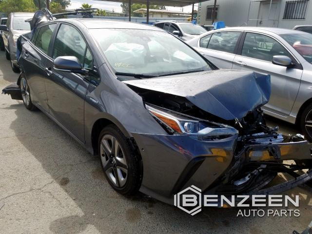 Used 2019 TOYOTA Prius Car For Parts Only For Parts