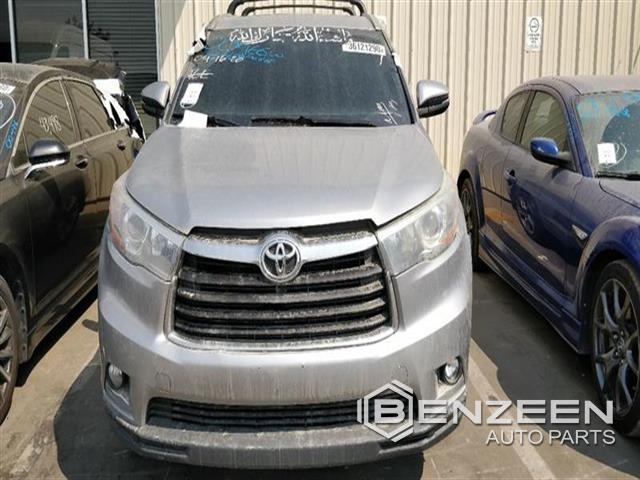 Used 2014 Toyota Highlander Hybrid Car For Parts Only For Parts
