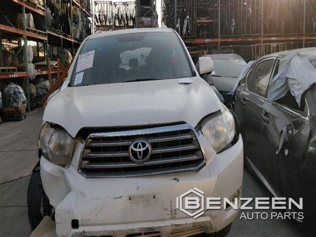 Used 2009 Toyota Highlander Hybrid Car For Parts Only For Parts