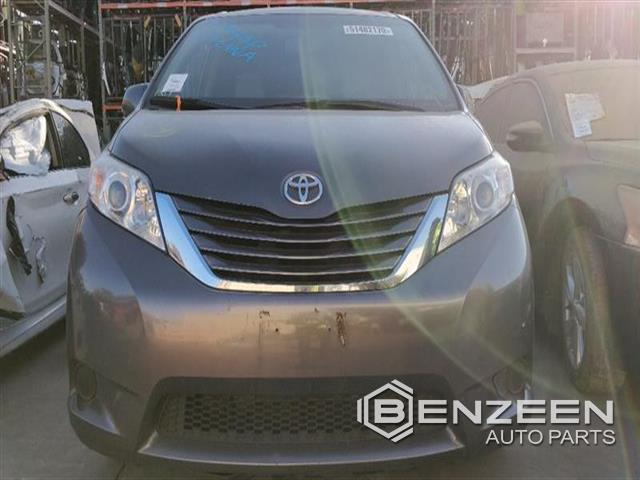 Used 2016 Toyota Sienna Car For Parts Only For Parts