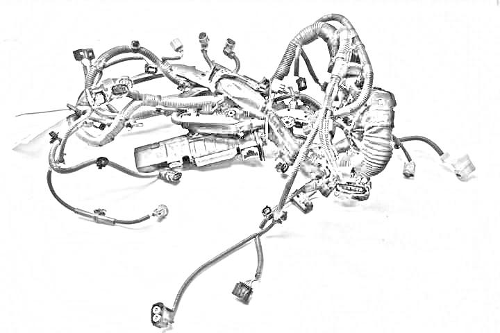 used 2000 toyota avalon engine wire harness - oem 82121-07060 - benzeen  auto parts  benzeen auto parts